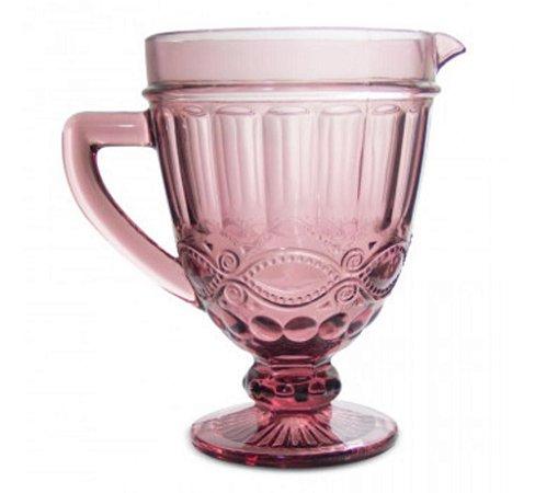 Jarra em Vidro Royal Pink