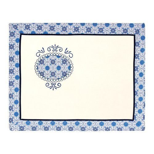 Lugar Americano - Bordado Azulejo
