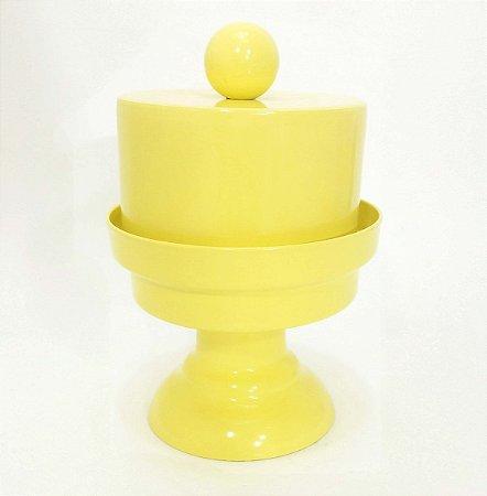 Cake Mini com prato Pedestal