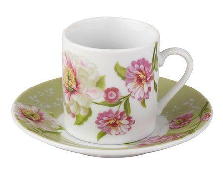 Xícaras Café - Gardenia