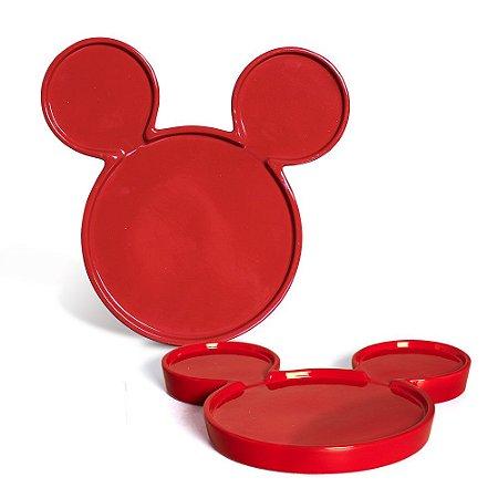 Bandeja Mickey Média