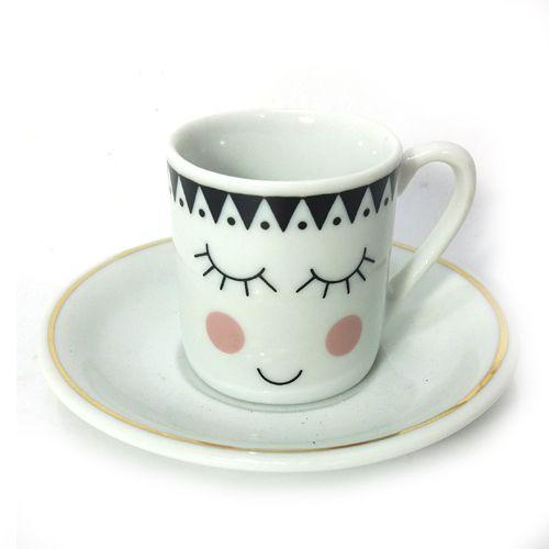 Xícara de Café com Pires Avulsa - Rostinho