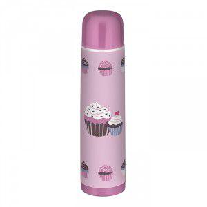 Garrafa Térmica Cupcake 1Litro