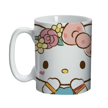 Mini Caneca Pink - Hello Kitty