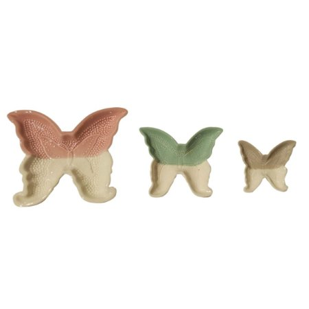 Pratos Cerâmicas Decor Borboletas