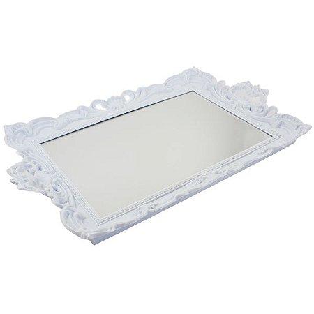 Bandeja com Espelho Marsele Branca