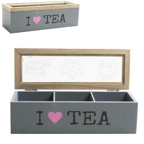 Caixa em MDF Tea