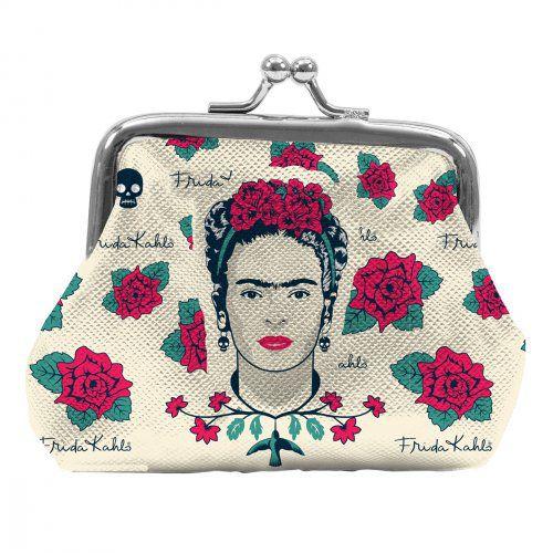 Porta Moedas Face ans Skull - Frida Kahlo