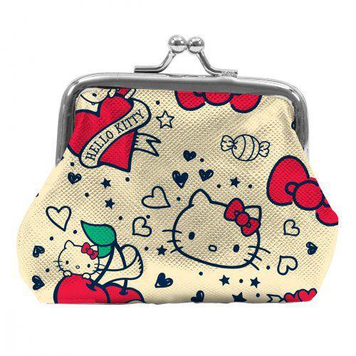 Porta Moedas Hello Kitty Old School
