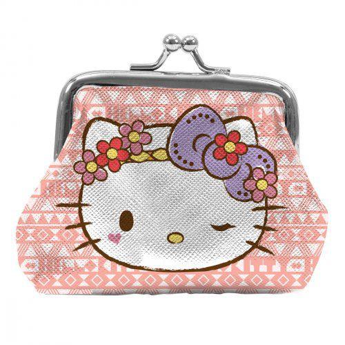 Porta Moedas Hello Kitty Rose
