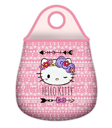 Lixeira de Carro - Neoprene Hello Kitty