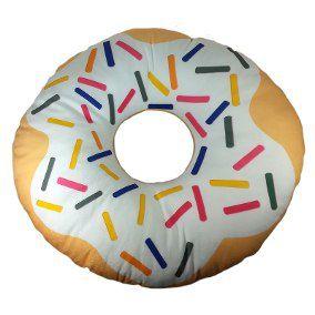 Almofada Donuts Chocolate Branco