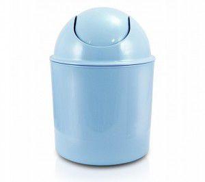 Cesto de Lixo Life Style Azul