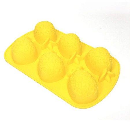 Forma Para Cupcake Abacaxi