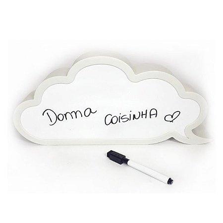 Luminária Nuvem para Escrever
