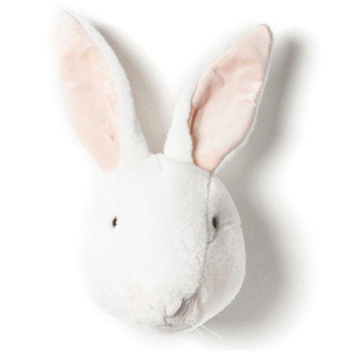 Cabeça Decorativa Coelho Branco Wild & Soft ®