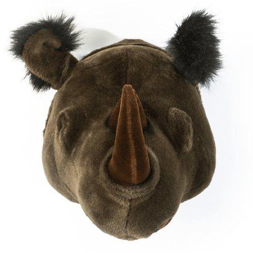 Cabeça Decorativa Rinoceronte Wild & Soft ®