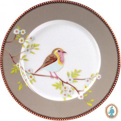 Prato De Sobremesa Early Bird Caqui Floral - PiP Studio