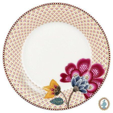 Prato de Sobremesa Branco - Floral Fantasy - Pip Studio
