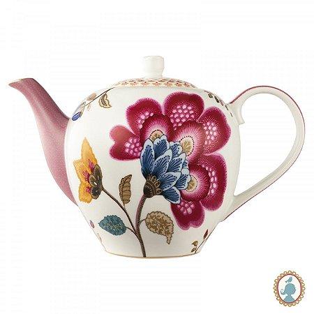 Bule Branco/Rosa – Floral Fantasy – PiP Studio®