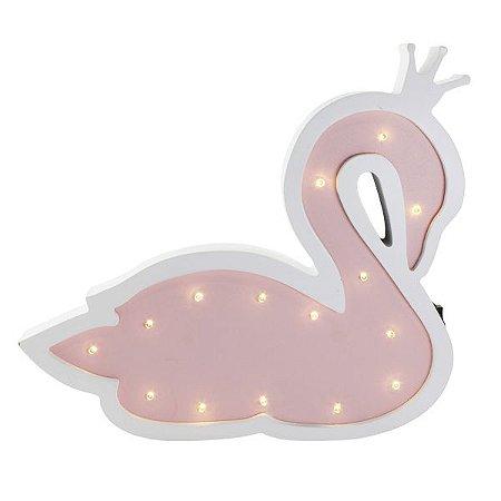 Cisne Luminoso em MDF