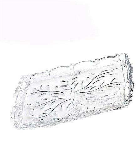 Petisqueira em Vidro Folhas - Wincy