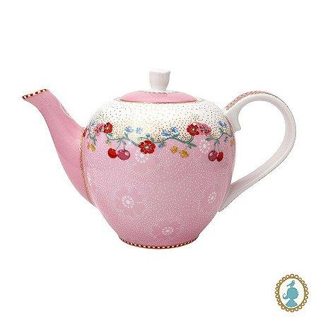 Bule Pequeno Cherry Rosa – Floral – Pip Studio®