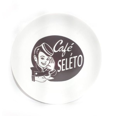 Prato Decorativo Café Seleto