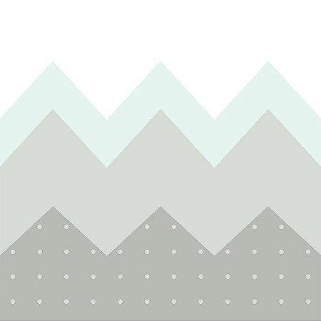 Papel de Parede Montanha Verde - T.Design