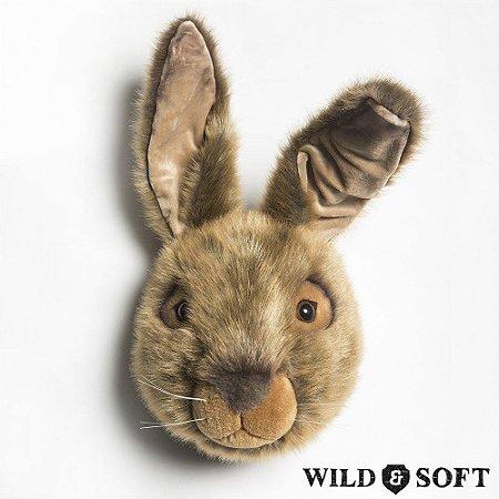 Cabeça Decorativa Lebre Wild & Soft ®