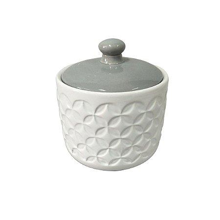 Potiche de Cerâmica Chinese Branco