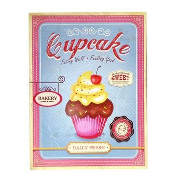 Quadro Cupcake Grande