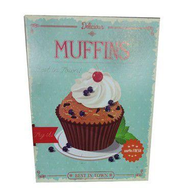 Quadro Muffins Grande