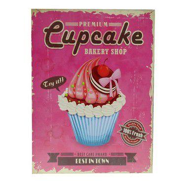 Quadro Premium Cupcake Grande