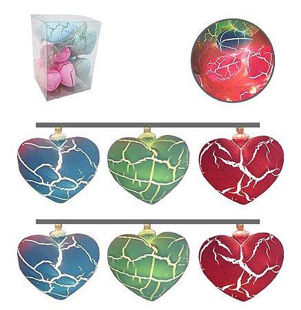 Cordão de Coração Coloridos Candy