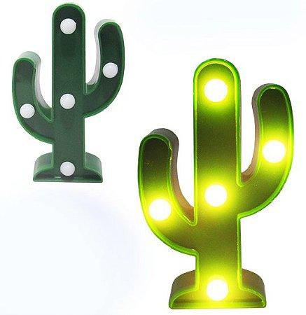 Mini Luminária Cacto