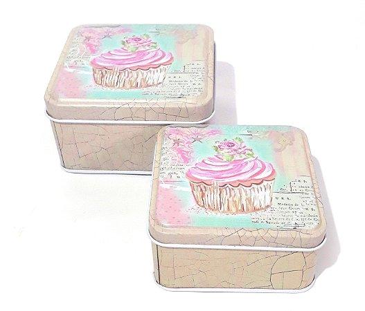 Latinhas Cupcake