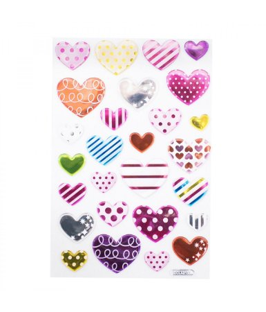 Adesivo Decorativo Corações