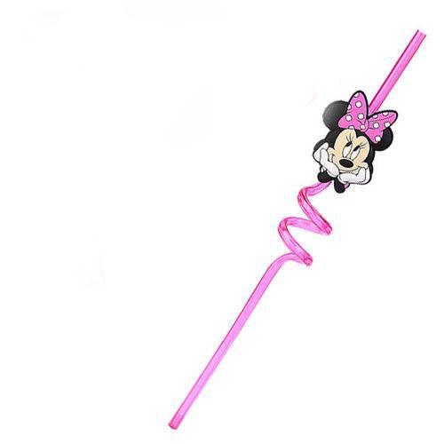 Canudo em Plástico Minnie
