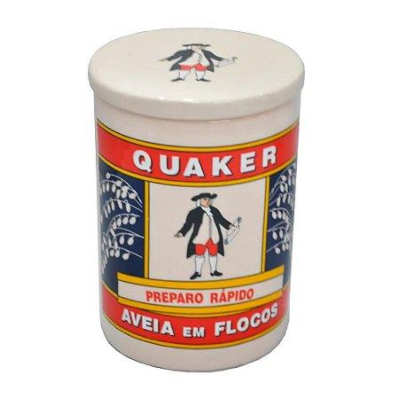 Pote de Cerâmica - Aveia Quaker Grande