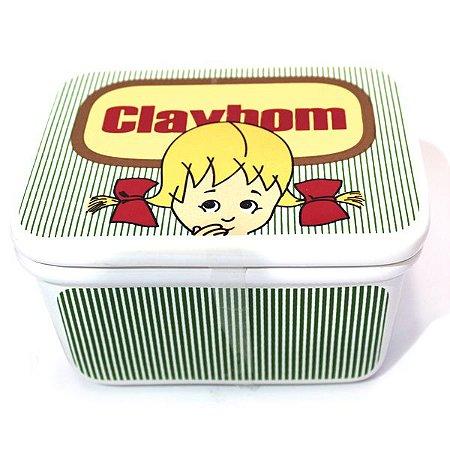 Manteigueira Cerâmica - Claybom