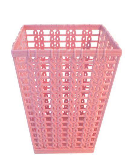 Porta Treco Quadrado Rosa