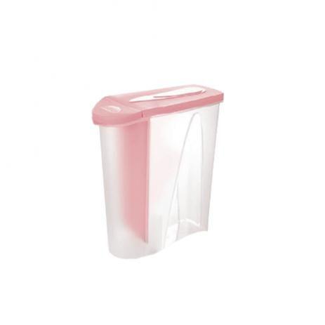 Porta Sabão em Pó Rosa 1 Kg -  Plasútil
