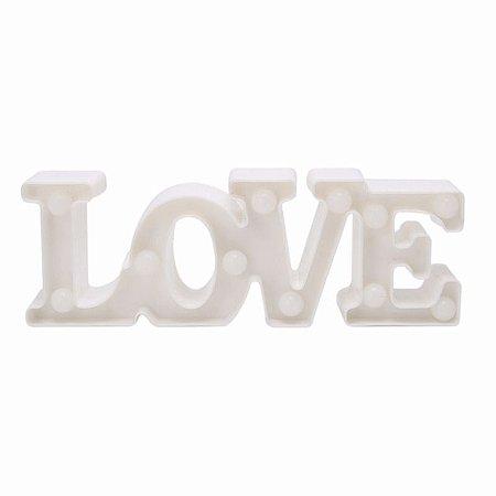 Luminária Led Love Branca