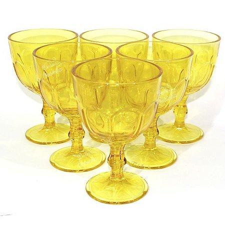 Jogo de Taças Amarelas - Wincy
