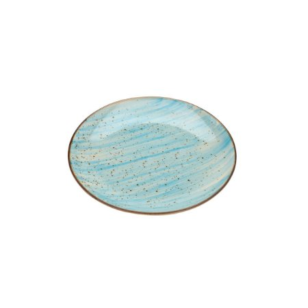Prato de Sobremesa Watercolor Azul - Bom Gourmet