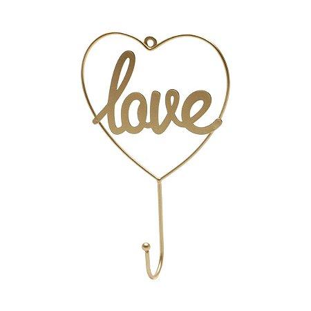 Gancho Dourado Love