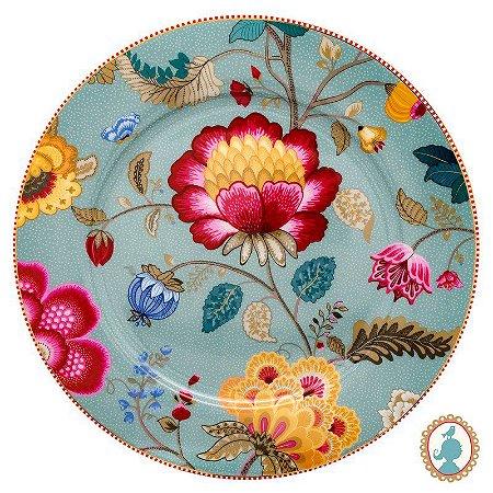 Prato Sousplat Azul - Floral Fantasy - Pip Studio