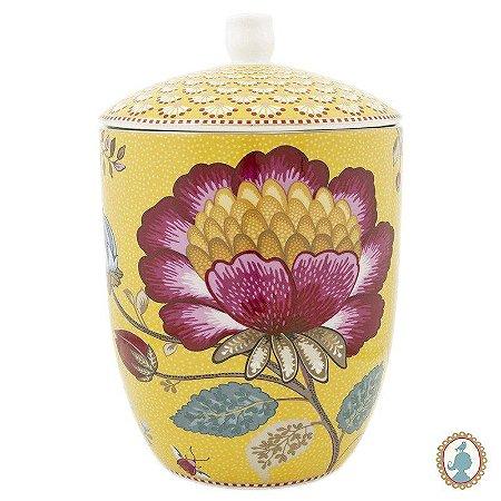 Pote Amarelo - Floral Fantasy - Pip Studio