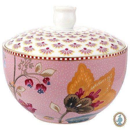 Pote p/ Algodão Rosa - Floral Fantasy - Pip Studio